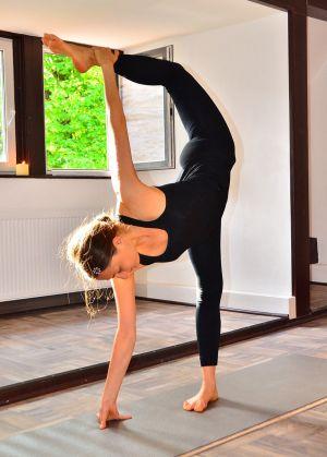 Екатерина Спиридонова, йога-тур г. Штутгарт (2014)