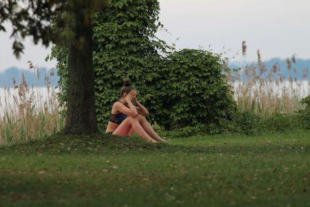 Екатериная Спиридонова, йога-тур оз.Гарда, Италия (19)
