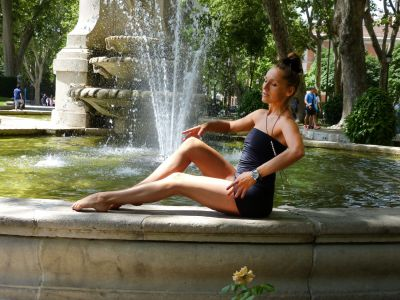 Екатерина Спиридонова, йога-тур в г. Мадрид (2016)
