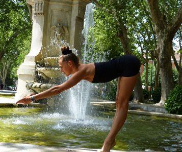 Екатерина Спиридонова , йога-тур в г. Мадрид (2016)