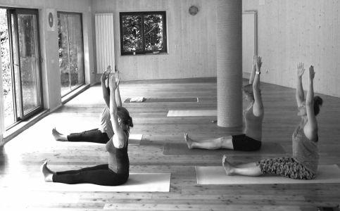 Екатерина Спиридонова, йога-тур оз. Комо (2016)