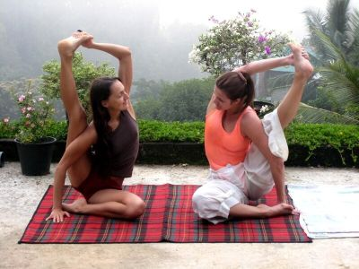 Sri-lanka Екатерина Спиридонова, йога-тур г. Штутгарт (2014)